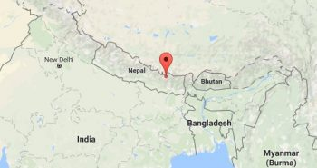 Moderate earthquake strikes near Mount Everest in Nepal, no casualties reported