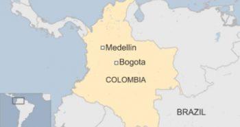 Colombia flight crash. 81 on board flight including football players