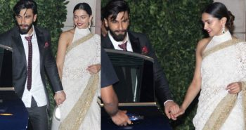 Deepika Padukone, Ranveer Singh slam BREAKUP rumours, walk out hand-in-hand from a party!