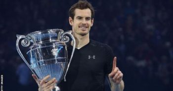 Andy Murray won ATP World Tour Finals title and seal world No.1 spot