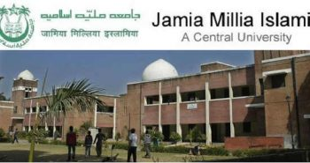 Jamia Millia Islamia University Admissions for B.Tech/B.Arch