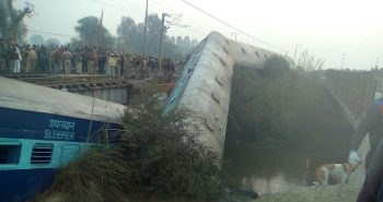 15 Coaches of Sealdah-Ajmer Express derail near Kanpur; 2 killed and 44 injured