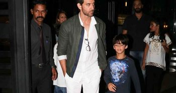 Hrithik Roshan – Sussanne come together for kids