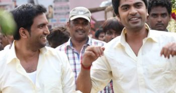 Simbu turns music director for Santhanam's film
