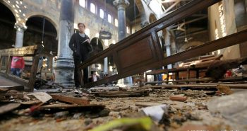 'IS'claims responsibility for Cairo cathedral bombing that killed at least 25