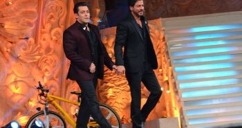 Salman and I will definitely work together in a film: SRK at  Star Screen Awards