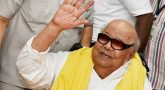 Karunanidhi hospitalised again for throat and lung infection, doctors say condition stable