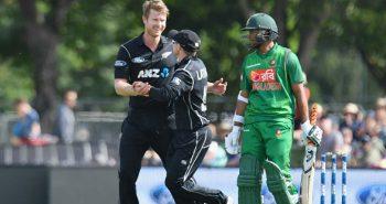 New Zealand beats Bangladesh by 77 runs in 1stODI