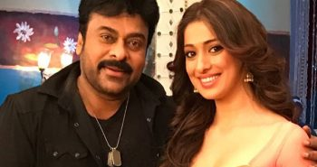Dream-like to dance with Chiranjeevi, says Raai Laxmi