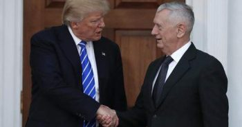 Trump to appoint retired Gen. James Mattis as new secretary of defence