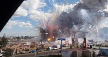 26 Dead, 70 injured in Mexico fireworks market explosion