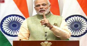 PM Modi organise Self4Society live video