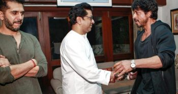 SRK assures Raj Thackeray that he won't work with Pakistani actors in future: MNS