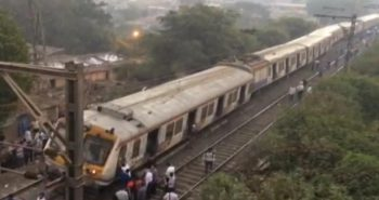 5 coaches of Kurla-Ambernath local train derail near Mumbai