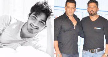 Salman Khan welcomes Ahan Shetty to Bollywood!