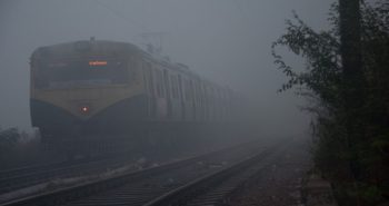24 Trains Delayed, 1 cancelled and 14 Flights Delayed Due to Fog