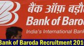 Bank of Baroda Recruitment 2016