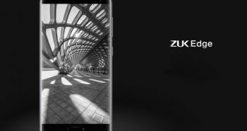 Lenovo Launches Zuk Edge Smartphone With 6GB RAM