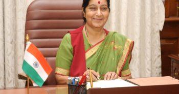Sushma Swaraj in 15 Global Thinkers list, PM Modi says 'very proud'