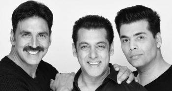 Salman Khan, Akshay Kumar and Karan Johar join hands for a new film