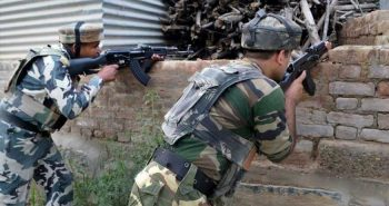 One terrorist killed in encounter with security forces in J-K's Baramulla district