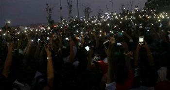 3,000 supporters  Gathered at Chennai's Marina Beach For Protests to support jallikattu:-