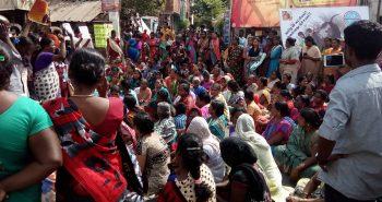 Protests occurring in various areas of chennai : (Tondiarpet) :-