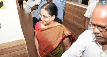 Flash NEWS : poes garden : Girija vaithiyanatham meets EPS:-