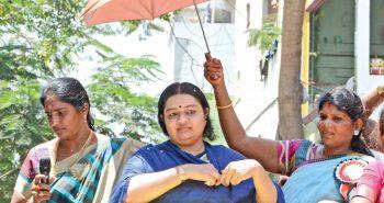 Deepa Jayakumar troubled by summer heat