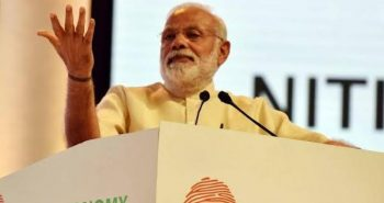 Modi lay foundation stone in Baripada