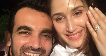 Zaheer Khan announces engagement with Sagarika Ghatge