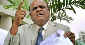 In a first, SC sends Justice Karnan to jail for 6 months for contempt