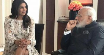 'Lovely coincidence' for Priyanka Chopra, as she meets PM Modi in Berlin