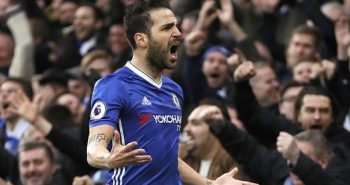 Cesc Fabregas condemns Boro as Chelsea close on EPL title