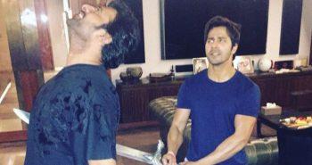 Not Katappa but Varun Dhawan 'kills' 'Baahubali' Prabhas this time