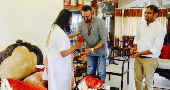 Sanjay Dutt teams up with Sri Sri Ravi Shankar to spread awareness about narcotics