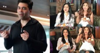 Sridevi pulls Karan Johar's leg at his house over Sunday binge