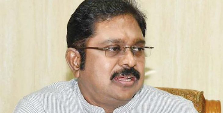 Dhinakaran removes TN CM from AIADMK district secy post