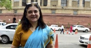 Maneka Gandhi operated for gallstone at AIIMS