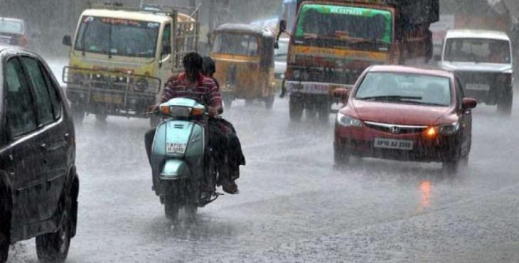 Heavy Rain expected for Next three days