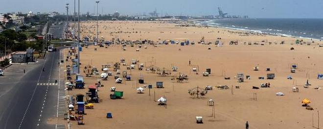 Chennai beaches set for major makeover