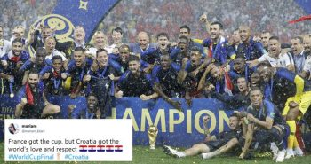 France won the cup, Croatia won hearts!