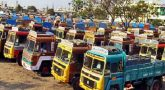 Lorry owners started strike across the country