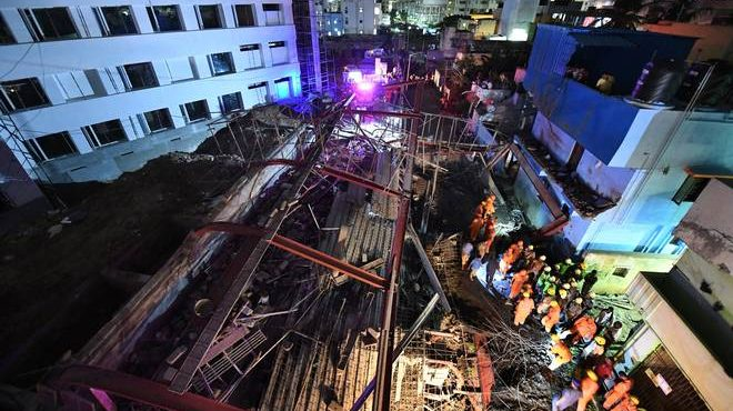 Chennai: 1 Dead, 32 Injured As Building Collapses; 2 Arrested