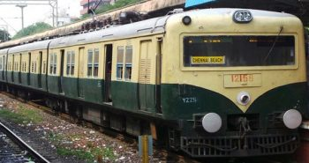 Four people die from a train in Chennai at Parangimalai