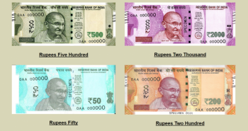 RBI launched new theme based notes