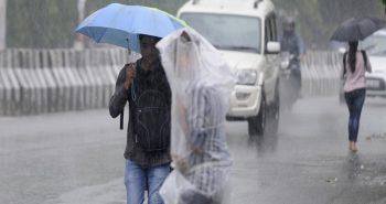 Today Heavy Rain in Delhi – waterlogging Areas