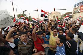 Iraq protests spread to Najaf