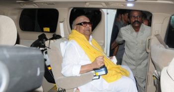 Karunanidhi health: Kerala CM visits at Kauvery Hospital