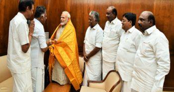 O Panneerselvam in Delhi to meet BJP leaders